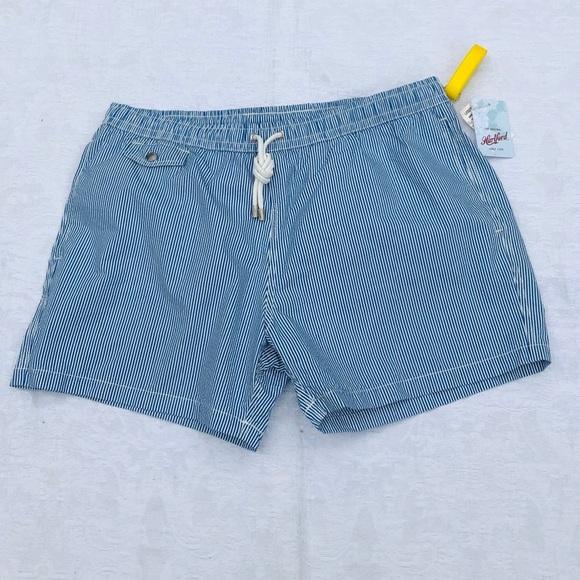 HARTFORD**Striped Men's Swim Shorts XXL $158
